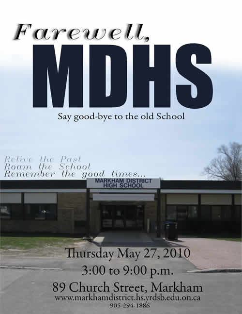 farewell MDHS